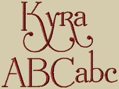 Hey, I found this really awesome Etsy listing at https://www.etsy.com/listing/71595273/kyra-embroidery-font-includes-3