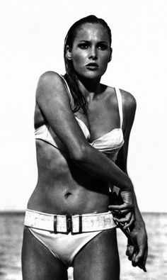 Ursula Andress in Dr. No .. www.fashion.net