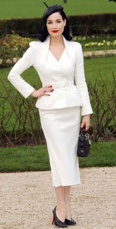 one of my style icons - Dita Von Teese