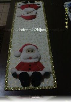 CAMINO DE MESA NAVIDEÑO Quilting Tips, Margarita, Table Runners, Advent Calendar, Diy And Crafts, Projects To Try, Lily, Quilts, Holiday Decor