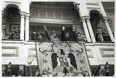 Himmler invitado a los toros 1940.