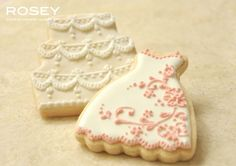 detailed wedding cookies