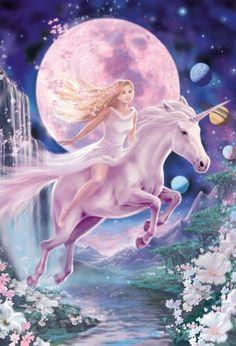 belles images de licorne | Créatures magiques: licornes, fées et sirènes