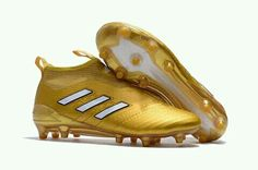 half off 582ff a3507 2017 Gold And White Adidas Ace PureControl FG Boots , off on sale    sportskick.