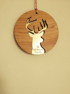 personalised laser cut christmas decoration by pollyandme notonthehighstreetcom