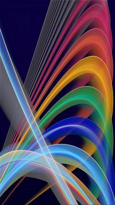 Strobe Neon Lights Wallpaper