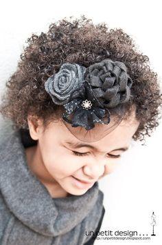 Hair flower accessories
