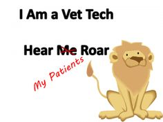 All veterinary technicians are special but some are specialists.   In honor of those veterinary technician specialists candidates who received letters  good or bad.
