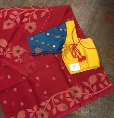 Latest saree blouse designs for 2018 that will amaze you - ArtsyCraftsyDad Latest Saree Blouse, Pattu Saree Blouse Designs, Fancy Blouse Designs, Blouse Back Neck Designs, Stylish Blouse Design, Designer Blouse Patterns, Work Blouse, Kutch Work Saree, Sarees