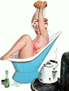 Hilda (Duane Bryers) ~ America's Forgotten Pin-Up Girl.