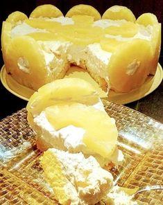 Ένα τέλειο και δροσερό γλυκό με ανανά Greek Sweets, Camembert Cheese, Sweet Home, Ice Cream, Chocolate, Cooking, Desserts, Recipes, Food
