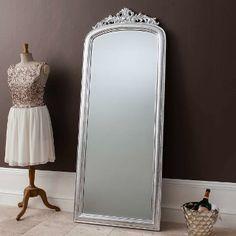 Elegant Silver Full Length Mirror | Primrose & Plum
