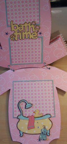 Bug Junkie: Baby Girl Onesie Mini Album - Lots of Pictures