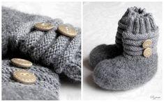 Knitting Socks, Baby Knitting, Slippers, Lana, Knit Crochet, Crocheting, Baby Knits, Baby Blankets, Fashion
