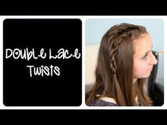 DIY Double Lace Twists | Cute Girls Hairstyles