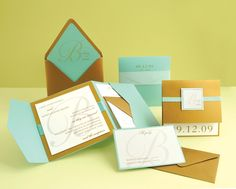 how to embellish store bought wedding invitations! check out these three, darling diy wedding invitations from wedding paper divas and somethingturquoise com! easily embellish existing invitation d. Make Your Own Wedding Invitations, Pocket Invitation, Formal Wedding Invitations, Creative Wedding Invitations, Diy Wedding Favors, Graduation Invitations, Printable Wedding Invitations, Diy Invitations, Wedding Stationary