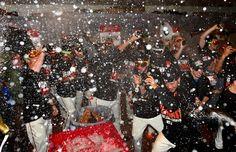 2014 NLCS CHAMPIONSHIP CELEBRATION!!