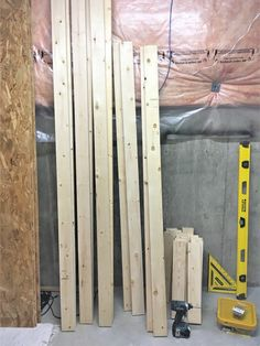 DIY Storage: Easy Extra Space Storage Shelves - Making Things is Awesome Wooden Garage Shelves, Garage Ceiling Storage, Garage Storage Shelves, Garage Shelf, Basement Storage, Garage Organization, Organization Ideas, Diy Storage Easy, Storage Ideas