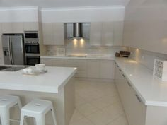 Another After Shot Granite Transformations Products Featured Trend Surfaces Benchtop In Bianco Real