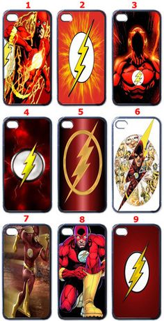 The Flash iPhone 4 iPhone 4S Case (Back Cover Only)