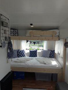 Creative of RV Camper Organization Storage for Travel Trailers - Vanlife & Caravan Renovation Decor, Caravan Renovation, Interior, Home, Remodel, Rv Living, Bedroom Decor, Vintage Camper Remodel