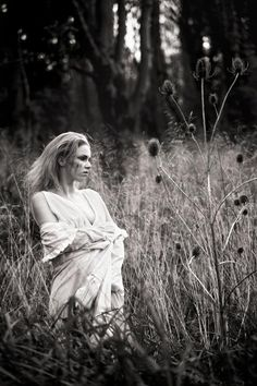 Sad crying lost girl in the woods. Creative photoshoot by Ellie Ellis Photgraphy, Stephy H modelling