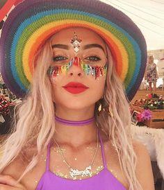 Insta_rave festival looks, rave festival, festival wear, festival face ge. Festival Looks, Festival Face Gems, Rave Festival, Festival Wear, Festival Outfits, Festival Fashion, Festival Guide, Festival Clothing, Festival Costumes