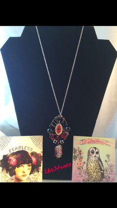 First come, first serve ~ Gypsy Policy ~ Email: EnchantmentsTherapy@Gmail.com All one of a kind pieces using Crystals & Upcycled Jewelry. FREE PERSONALIZED TAROT READING W/Purchase http://EnchantingBabble.Blogspot.com #GypsyBloggerExtraordinaire #HollywoodsGypsy