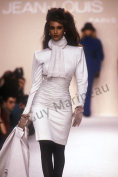 Iman@Jean Louis Scherrer Fall/Winter 1989_Photo Guy Marineau_002