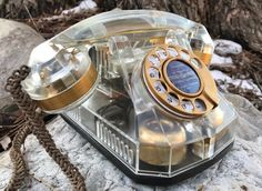 WATER-CLEAR Automatic Electric Model 40 Telephone
