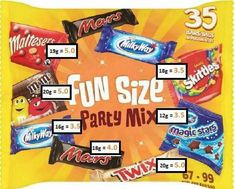 Fun size sweet syns slimming world