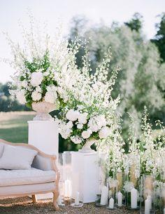 A Fairytale Chateau Wedding - Issuu Elegant Wedding, Floral Wedding, Dream Wedding, Summer Wedding Flowers, Wedding Ceremony Flowers, May Weddings, Spring Weddings, Themed Weddings, April Wedding