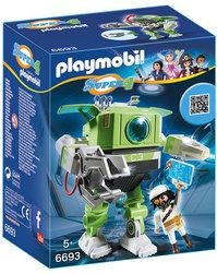 16€ PLAYMOBIL® 6693 Super 4 Cleano-Roboter