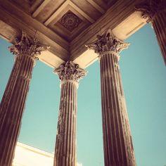 Nîmes, Maison Carrée #artromà #Rome