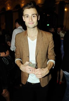 Douglas Booth at the W Magazine September Issue Launch Party