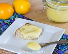 Meyer lemon curd @Dinnersdishesdessert