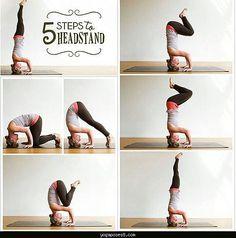 Yoga how to do headstand - http://yogaposes8.com/yoga-how-to-do-headstand.html