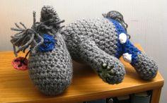 Smarty Pants Crocheted MLP Amigurumi Plush - My Little Pony Friendship is Magic. $50,00, via Etsy.