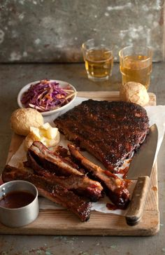 sticky chipotle barbecue ribs |