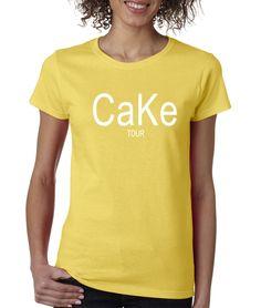 CaKe Tour Womens T-shirt