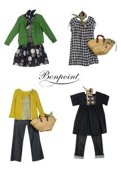 little girl style. Bonpoint children's clothes