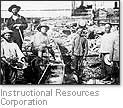 [picture of Chinese railroad laborers]-impact of the railroad