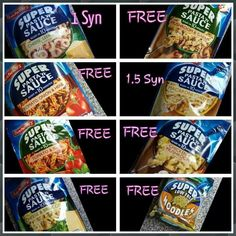 Super noodles and pasta syns Slimming World Noodles, Slimming World Syns List, Slimming World Vegetarian Recipes, Slimming World Syn Values, Slimming World Diet Plan, Slimming World Treats, Slimming World Free, Slimming World Dinners, Slimming Recipes