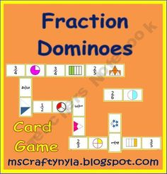 Fraction Dominoes - Fractominoes