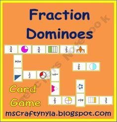 Fraction Dominoes - Fractominoes