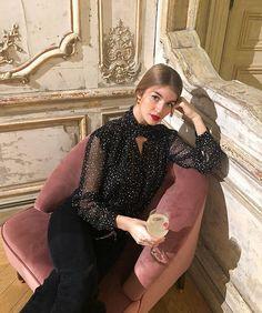 Parisian Summer, Parisian Chic, Sandro, Fall Winter Outfits, Spring Outfits, Fashion Books, Fashion Outfits, Beautiful Outfits, Beautiful Clothes