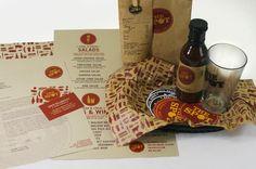 Firestone Grill Rebranding by Jonathan Tipton-King, via Behance