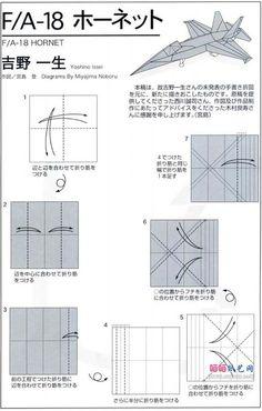 15 best origami jet images on pinterest origami folding 3d rh pinterest com