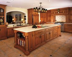 Traditional Kitchen Open Concept Kitchen Design, Pictures, Remodel, Decor and Ideas - page 285