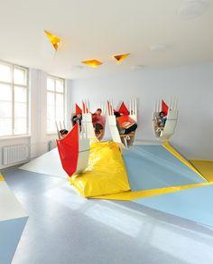 Erika Mann's school in Berlin, Germany. Baupiloten project.